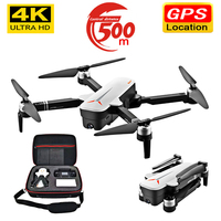 2020 NEW X9 Drone 4K HD Aerial Video Camera GPS drone WiFi fpv Quadrocopter camera intelligent return drone with camera Dron toy
