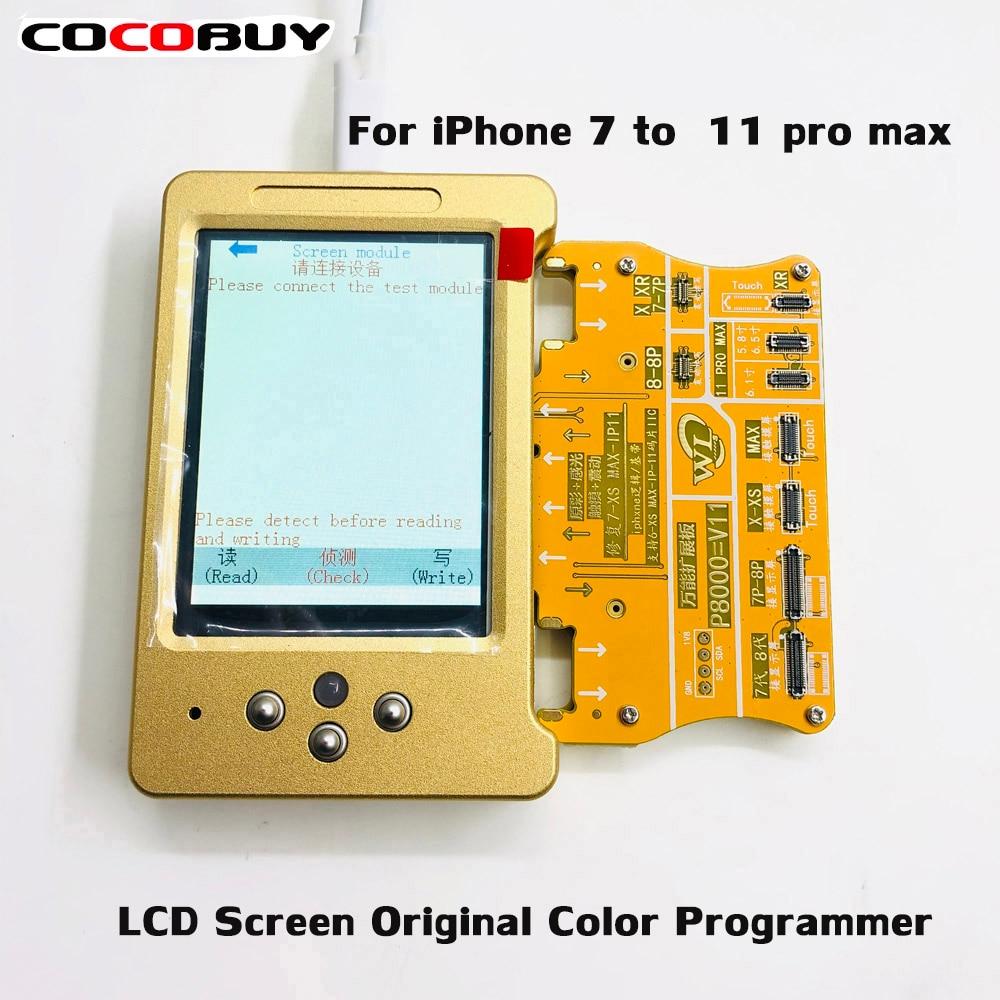 Sensor de Luz Ferramenta de Recuperação para x Programa de Recuperação Tela Verdadeiro – Toque xs 11pro Max 7 8 Mais Vibrar Dados Ler Gravação v6 Lcd Tom