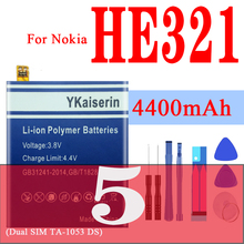 Battery for Nokia 5 3 3.2 3.1 Dual SIM (TA-1053 DS) N5 HE321 TA 1020 1028 1032 1038 1049 1057 1063 1070 1074 1154 WT240 HE351