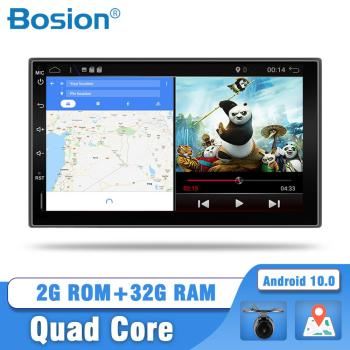 Bosion Android 10 2 Din Car radio Multimedia Video Player Universal auto Stereo GPS For Nissan Hyundai Kia toyota free MAP CAM image