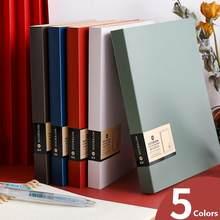 Cuaderno diario de hojas sueltas A5 cubierta línea cuadrícula planeador diario semanal Agenda cuaderno organizador escuela Oficina suministros cuaderno
