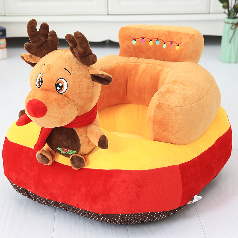 Baby Learn To Sit Sofa Chair Drop Cartoon Cute Animal Back Baby Baby Lazy Seat Child Small Sofa Kids Chair