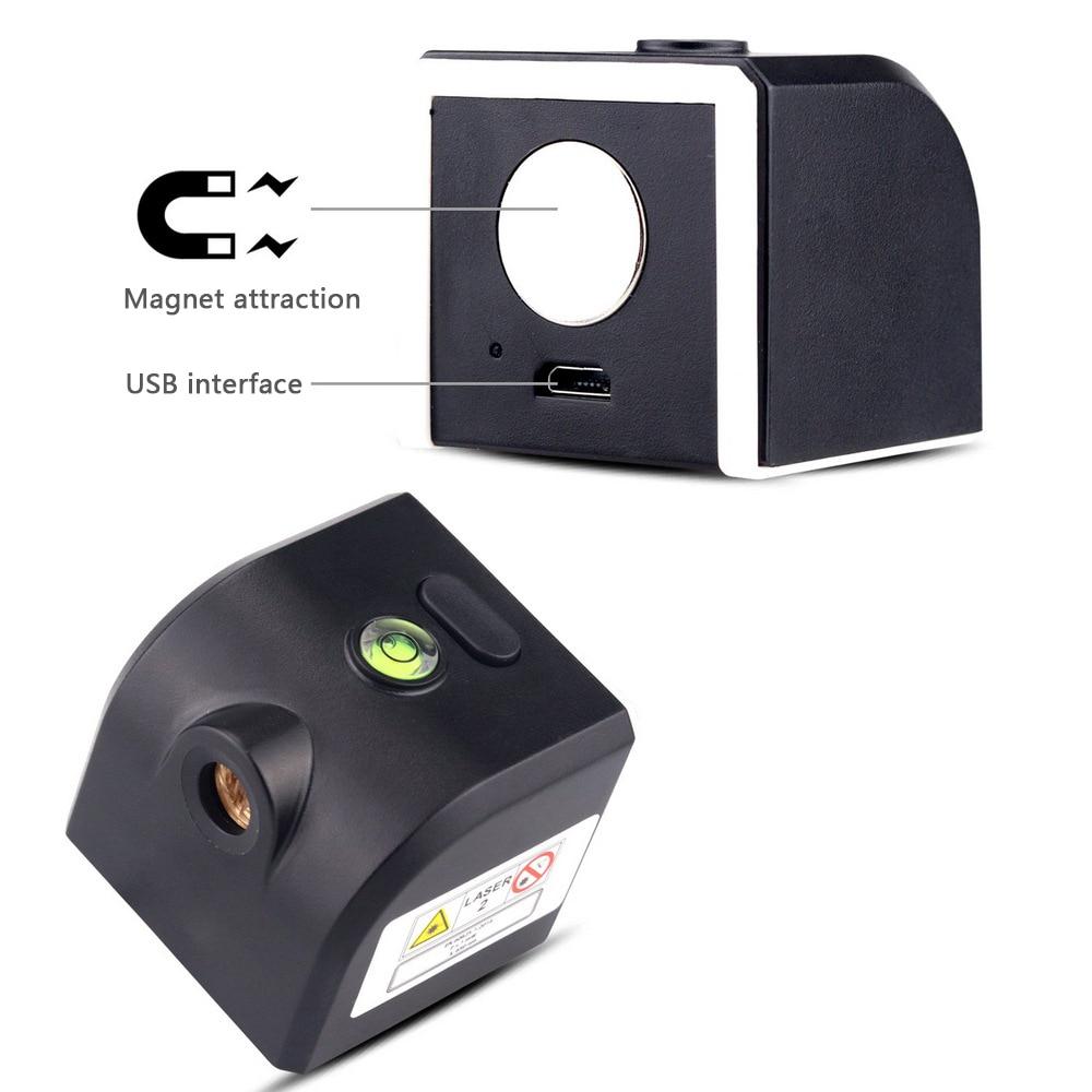 nível laser auto-nivelamento faixa de medição vertical