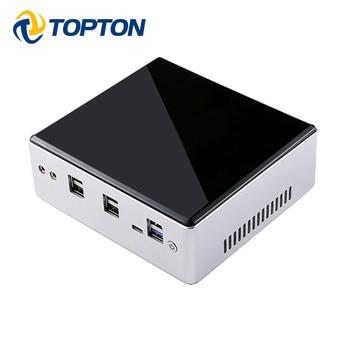 Mini PC Intel Lan de 10. ª generación, i7-10510U de i5-8250U, 4 núcleos, 2 * DDR4, M2, NVMe, ordenador NUC, Win10 Pro, Linux, WiFi, USB-C, DP, HDMI, novedad de 2020