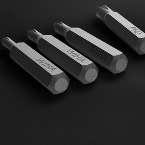 Image 2 - Xiaomi Mijia Wiha Daily Use Screw Kit 24 Precision Magnetic Bits Alluminum Box Screw Driver xiaomi smart home Kit