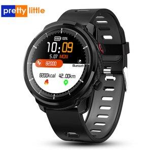 Image 1 - Reloj inteligente S10 para IOS y Android, reloj inteligente deportivo con control del ritmo cardíaco, predicción del tiempo, resistente al agua y con pantalla táctil