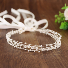 TRiXY SH28-S Pearls Beading Bridal Belt Wedding Dress Accessories Sash Decoration