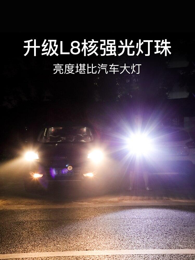 longa distancia rapida poderosa lanterna recarregavel luz 02