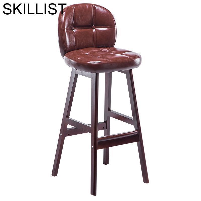Table Stoelen Comptoir Sedia Taburete Silla Sgabello Sandalyesi Leather Tabouret De Moderne Cadeira Stool Modern Bar Chair