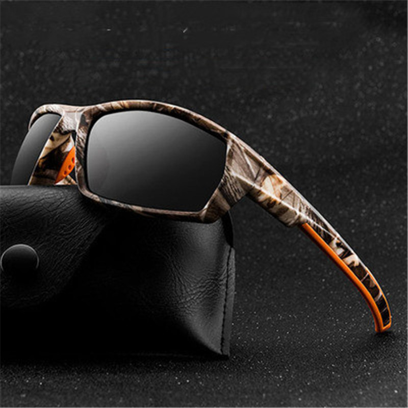 New Camouflage Sport Fishing Glasses Rayed Sun Glasses Goggles Outdoor Polarized Sunglasses Men Women Fish Eyewear