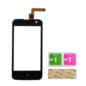 Image 3 - Touch Screen Glass For Archos 40 Cesium Touch Screen Front Glass Mobile Phone Touch Panel Lens Sensor Tools 3M Glue Wipes
