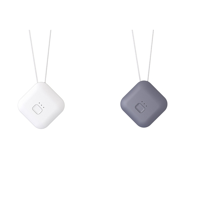 Air Purifier USB Portable Personal Wearable Necklace Negative Ionizer Anion Air Cleaner Air Freshener 1