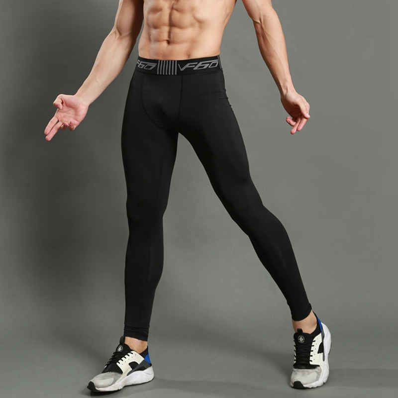 Sportswear Pants Tights Athletic-Trousers Compression Fitness Breathable Running Gym title=
