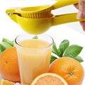 Новый стиль  ручная соковыжималка для фруктов из алюминиевого сплава  соковыжималка для лимона  желтые бытовые кухонные инструменты  незам...