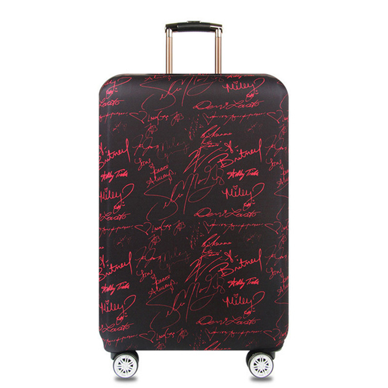 Thicker Trolley Luggage Protective Covers Suitcase Case Travel Accessorie Baggag Elastic Luggage Cover For 18-32 Inch Suitcase