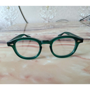 Image 3 - สีเขียวJohnny Deppแว่นตาผู้หญิงAcetate Retro Presbyopic Diopter + 1.0 + 1.5 + 2.0 + 2.5 + 3.0 + 3.5 + 4.0 Handmade