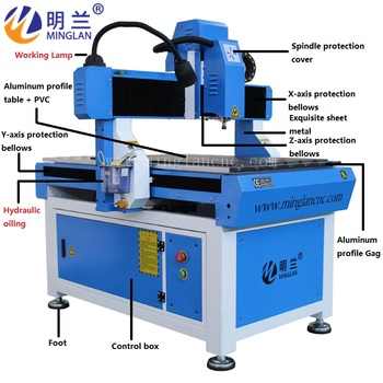2.2kw CNC Router 6090 Small CNC Milling Machine / Router CNC 3 axis cnc router 6090 1 5kw water cooled spindle china cnc milling machine with linear guide rail
