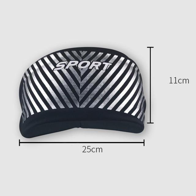 Anti-perspirant sweatband fashion unisex yoga fitness headband run indoor sports sweat guide turban protection anti-sweat  belts 1