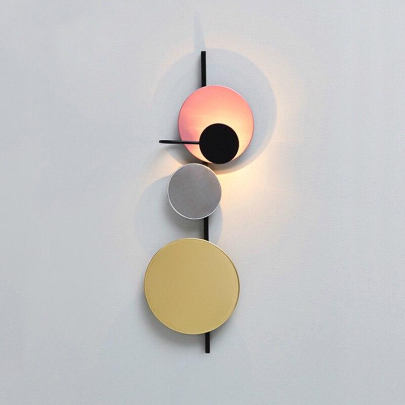 Wall Lamp LED Light  Sconce Fixture Bedroom Bedside Corridor Minimalist Balcony