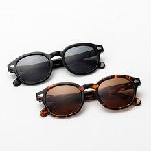 Johnny Depp Acetate Retro Polarized Sunglasses Women Men Classic Vintage Sun