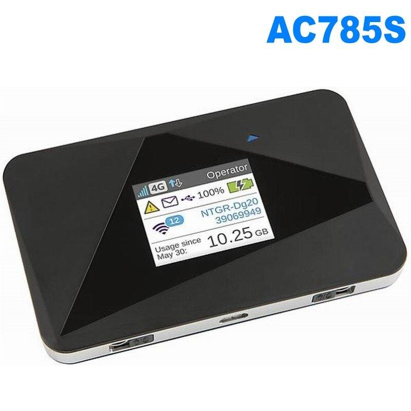 AirCard 785S LTE Mobile Hotspot 4G FDD 700/900/1800/2100/2600 MHz Routeur Plus 2 pièces antenne