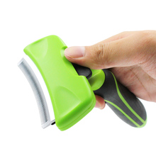 Pet hair removal brush combs for dogs and cats pet grooming tools detachable accessories  comb