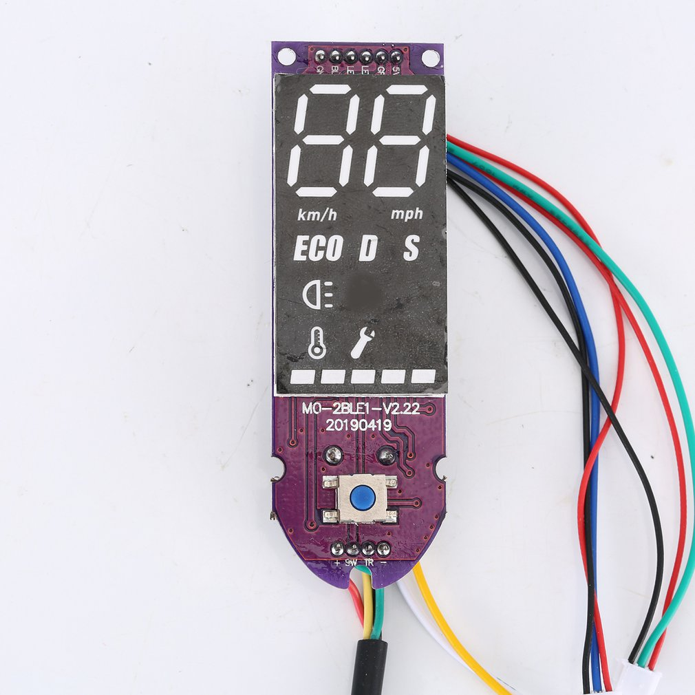 Electric Scooter Digital Controller Board Motherboard Kit Professional Digital Dashboard Cover For Xiaomi M365