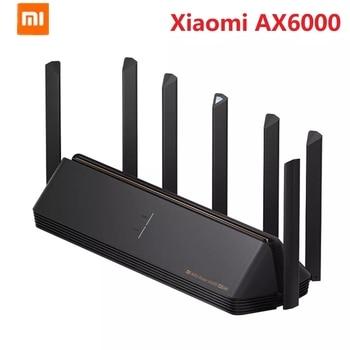 2021 Xiaomi AX6000 AIoT Router 6000Mbs WiFi6 VPN 512MB Qualcomm CPU Mesh Repeater External Signal Network Amplifier Mi Home 1