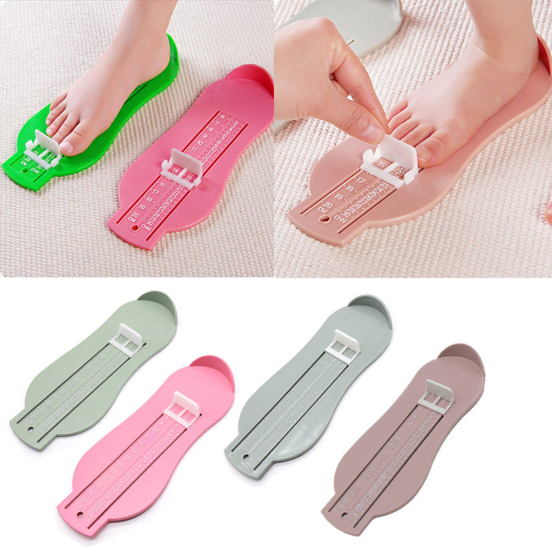 Baby Foot Measure Foot Ruler Kids Foot Length Measuring Device Child Shoes Calculator For Chikdren Infant Shoes Fittings Gauge T