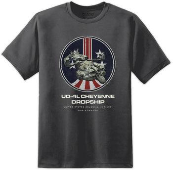 Camiseta de Aliens Ud 4L Cheyenne para hombre, camiseta de Uscm, Sulaco...