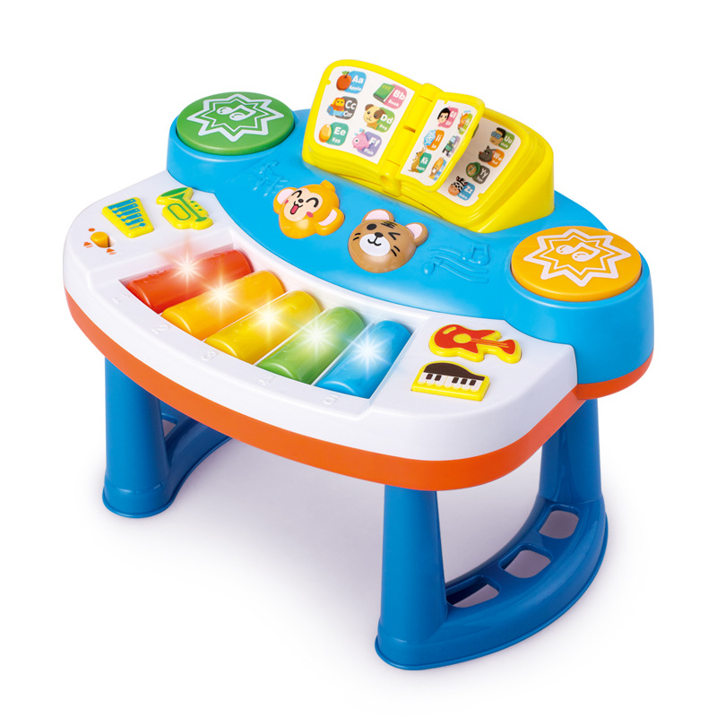 DIGO Export Cross Border AliExpress Amazon Children Early Childhood Baby Educational Electric Bandstand Toys For Children And In