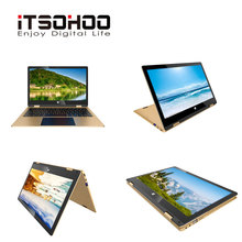 11.6 inch Multi Touch laptop 4GB RAM 160GB Storage Intel J3355 metal notebook