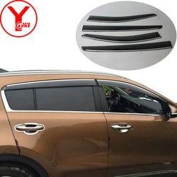 Visor de puerta para kia sportage 4 2017 ql kx5 2016 deflectores de ventana lateral protectores de lluvia para kia sportage accesorios 2018 SUNZ
