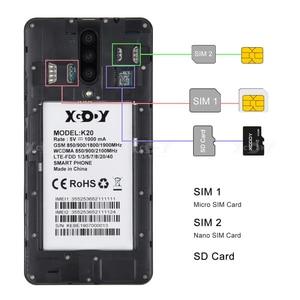 "Image 5 - XGODY 4G 듀얼 Sim 스마트 폰 안드로이드 9.0 5.5 ""18:9 HD 풀 스크린 2GB 16GB MTK6737 쿼드 코어 5MP 카메라 2800mAh 휴대 전화 K20"