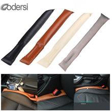 Универсальная мягкая Автомобильная подушка для сиденья, наполнитель, современный стиль, прочная гладкая Автомобильная прокладка для заполнения зазора, Универсальная автомобильная подушка, автомобильные аксессуары