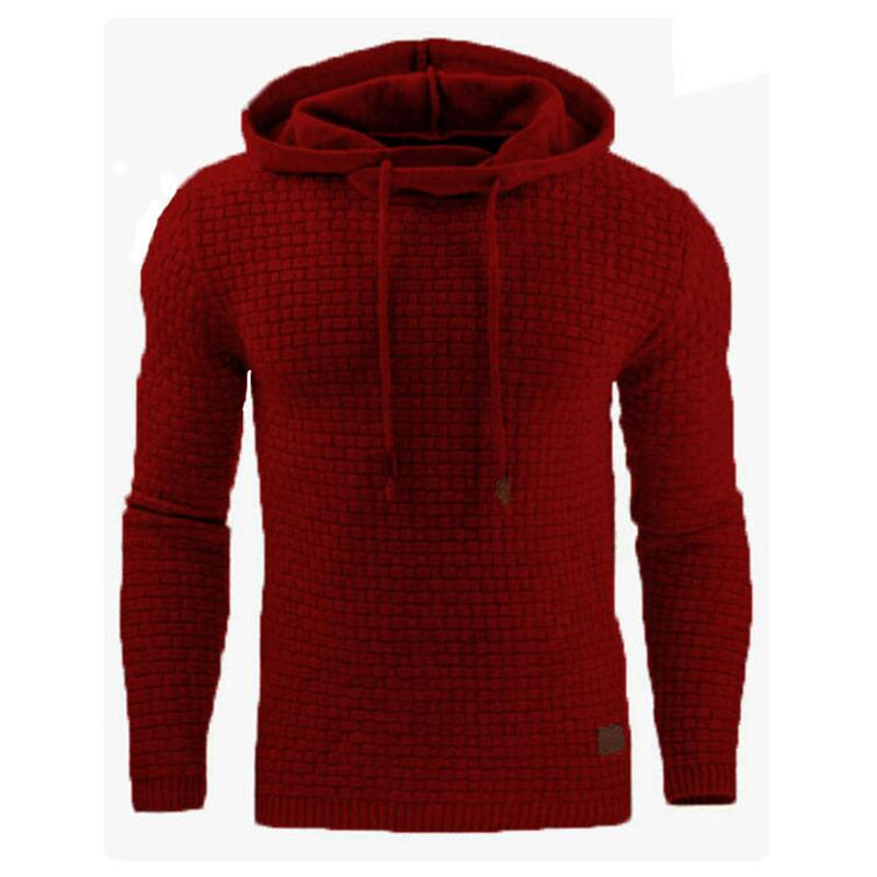 Solid Color 2020 Autumn Men's Hoodies Slim Hooded Sweatshirts Mens Coats Male Casual Sportswear Streetwear Brand Clothing S-5XL