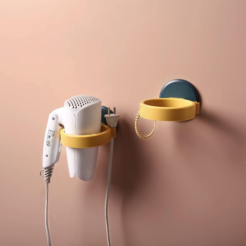 Hair Dryer and Straightener Holder Wall