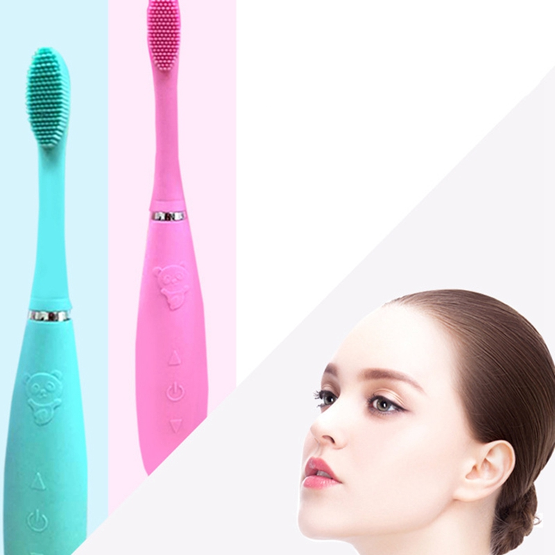Rechargeable Electric Toothbrush Strong Power Acoustic Wave Toothbrush Ipx7 Waterproof Sonic Toothbrush