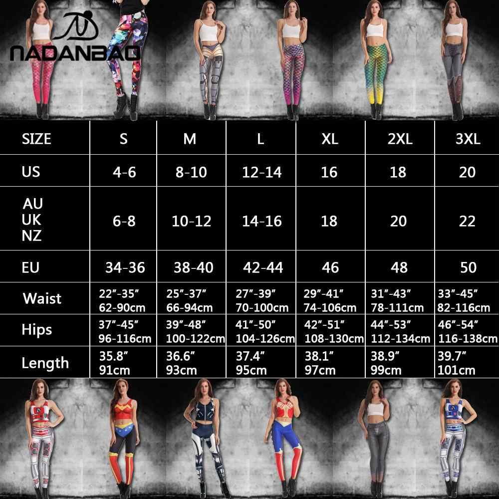 Nadanbao 2019 cinza mandala leggings feminino flor impressão digital plus size fitness legging workout cintura alta slimm roupas