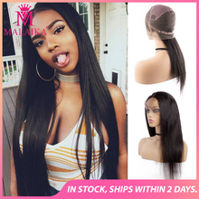 MALAIKA Full Lace Human Hair Wigs For Black Women Straight