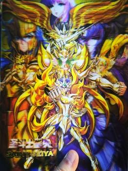 Saint Seiya 3D zmień zabawki Hobby Hobby kolekcje kolekcja gier karty Anime tanie i dobre opinie TAKARA TOMY Q786 8 ~ 13 Lat 14 Lat i up 2-4 lat 5-7 lat Chiny certyfikat (3C) Zwierzęta i Natura Fantasy i sci-fi