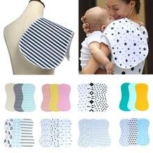 Детские полотенца для кормления, салфетки для новорожденных, Детский носовой платок, легко стирается и сушится, детское молочное полотенце