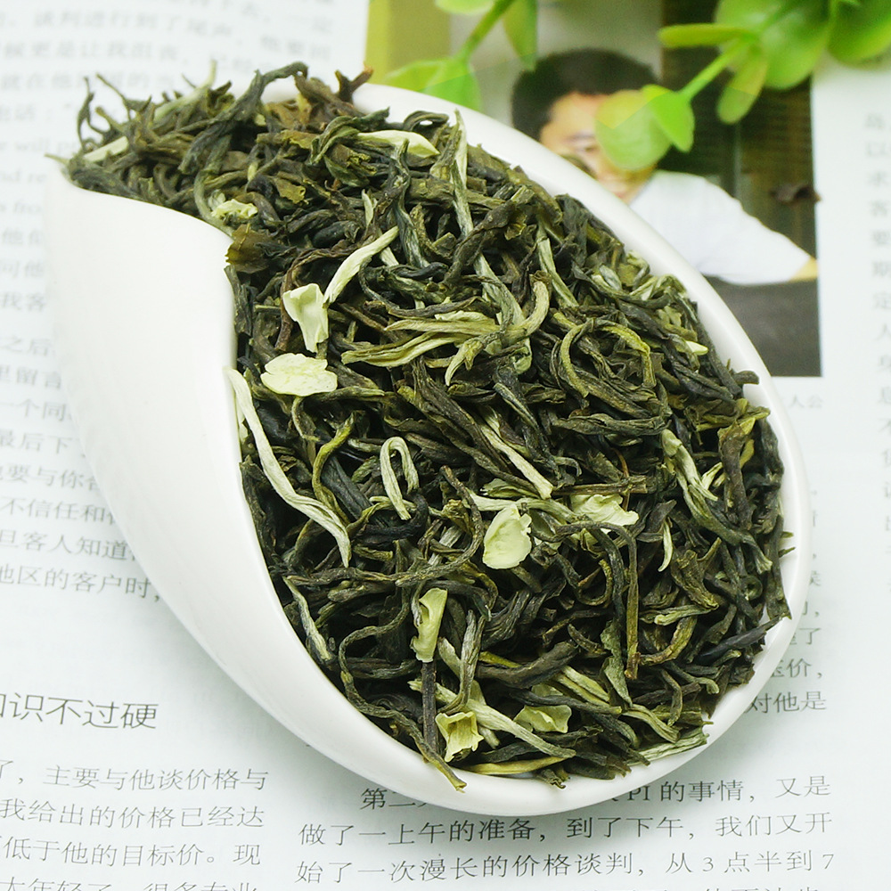 2020 Chinese Jasmine Flower Green Tea Real Organic New Early Spring Jasmine Tea for Weight Loss Green Food Health Care 1
