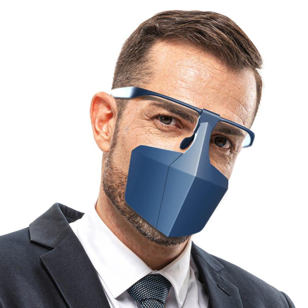 Protective Coronavirus Masks Face Shield Against Anti-fog Isolation face shield Breathable Reusable Protective Cover Dropship 3