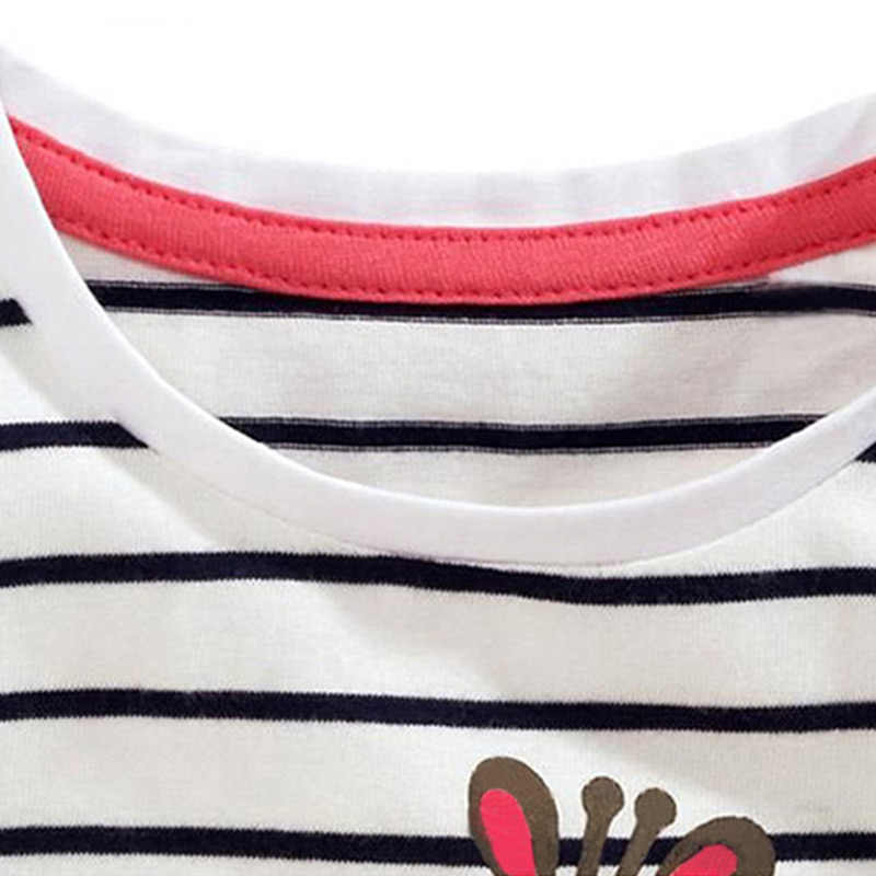 ילדים ילדה T חולצת קיץ תינוק כותנה חולצות פעוט טיז בגדי ילדי בגדי קריקטורה חולצות קצר שרוול מזדמן ללבוש
