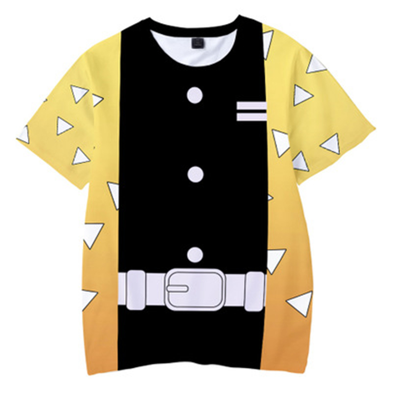 H14bdeeb024034726a5f8c5c5a63f8eafr Kids Boys Devils killer T-shirts 3d Print Cosplay Japanese Ghost blade Children Summer Short Sleeve Tshirts Demon Slayer Clothes