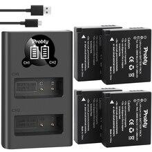 Para Panasonic DMW BLG10 DMW BLE9 BLG10E batería DMC ZS60 DMC ZS100 DMC GX7 DMC LX100 DMC GF3, cámara de DMC GF5