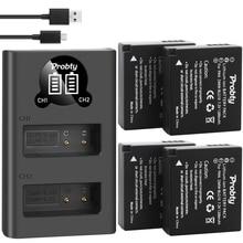 Per Panasonic DMW BLG10 DMW BLE9 BLG10E Batteria DMC ZS60 DMC ZS100 DMC GX7 DMC LX100 DMC GF3 DMC GF5 DMC GF6, DMC GX macchina fotografica