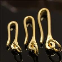 Vintage U// Phoenix Shape Solid Brass Key Chain Key Ring Hooks Mens Snap Clasp