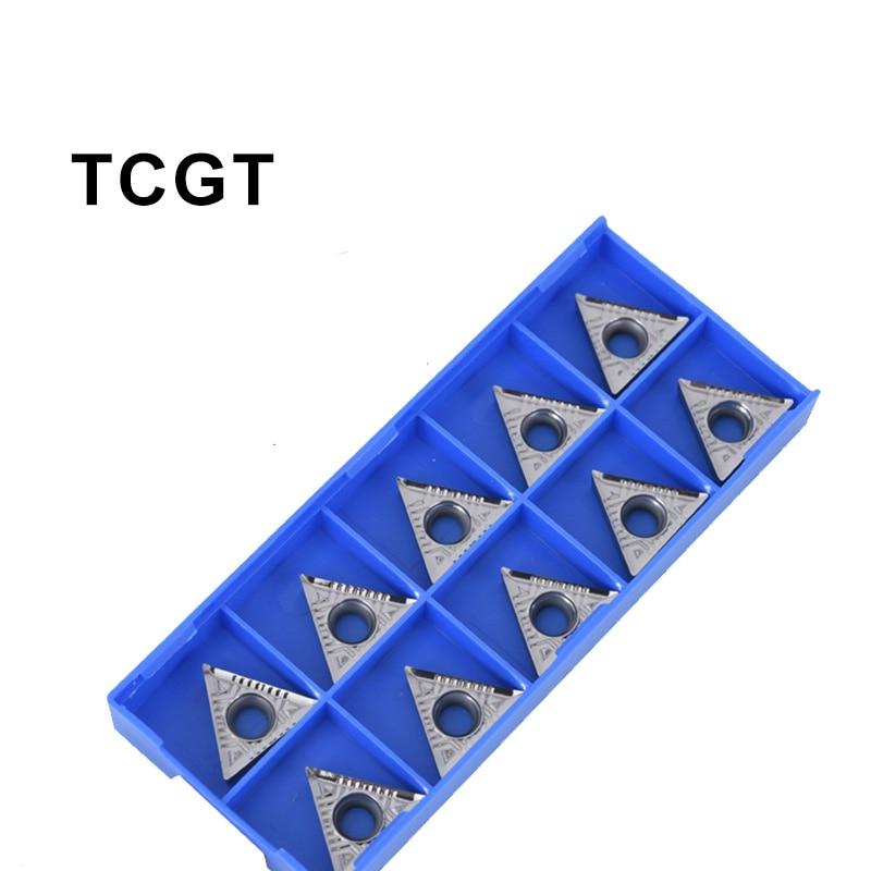 TCGT110202 CGT090202 TCGT090208 TCGT090204 AK H01 Aluminum Inserts Internal Tool Inserts CNC Lathe Machine Tool Cutter